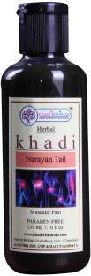 Khadi Rishikesh Narayana Tel Ayurvedic Pain Relief Oil 210 ml