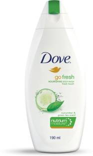 Dove Go Fresh Nourishing Body Wash, 190 ml