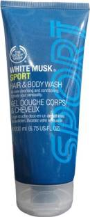 The Body Shop White Musk Sport Hair & Body Wash(200 ml)