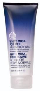 The Body Shop White Musk for Men Hair & Body Wash(200 ml)