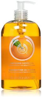 The Body Shop Mega Shower Gel, Satsuma(750 ml)