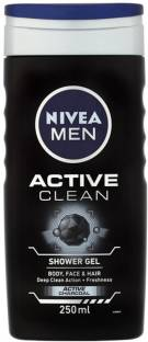 Nivea Men Active Clean Shower Gel(250 ml)