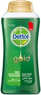 Dettol Daily Clean Body Wash, 250 ML Gold