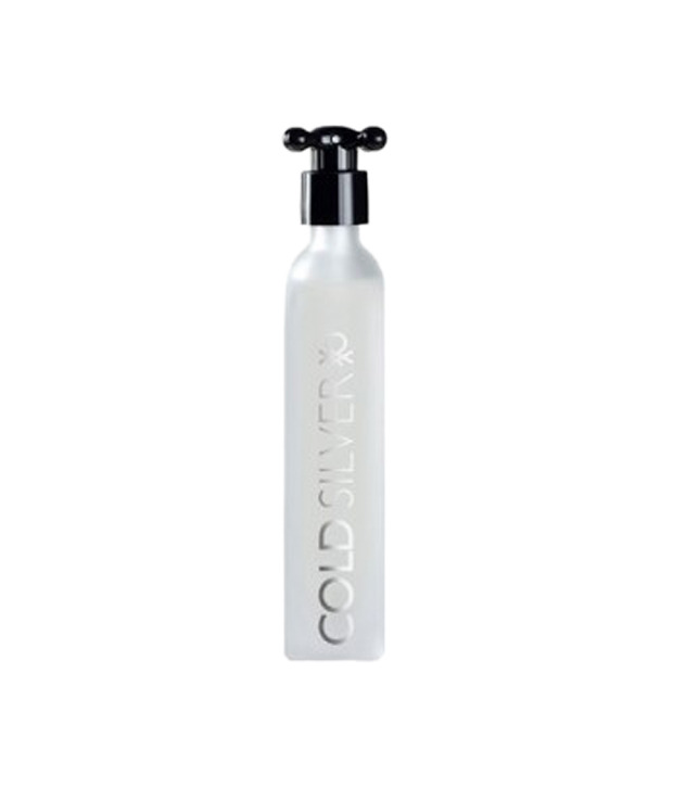 United Colors of Benetton Cold Silver EDT For Men- 100 ml