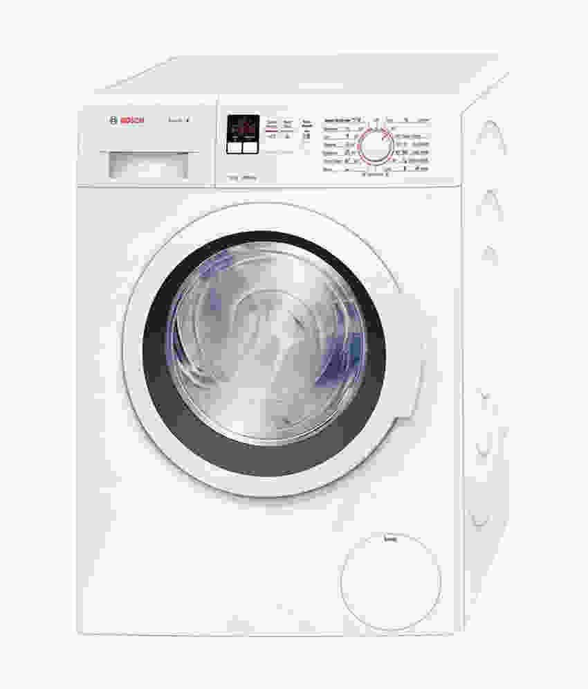 Bosch 7Kg Fully Automatic Front Load Washing Machine White (WAK20160IN, White)