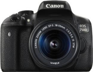 Canon EOS 750D DSLR with 18-55 STM Lens