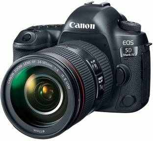 Canon EOS 5D Mark IV DSLR with EF 24-105mm IS II USM Lens