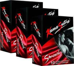 Kamasutra Smooth Condoms (30 Condoms)