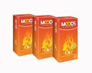 Moods Blaze Condoms (36 Condoms)