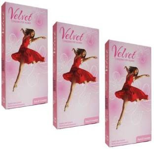 Moods Velvet Women Condoms (9 Condoms)