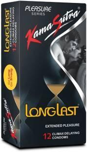 Kamasutra Longlast Condoms (12 Condoms)