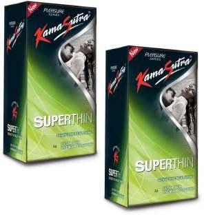 Kamasutra Pleasure Superthin Condom (24 Condoms)