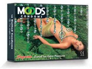 Moods Supreme Dotted Condoms (20 Condoms)