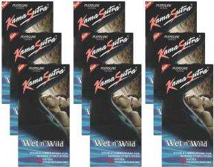 Kamasutra Wet n Wild Condoms (108 Condoms)
