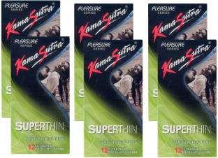 Kamasutra Superthin Condoms (72 Condoms)