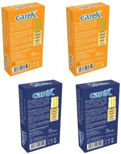Carex Rough & Tough x 2 and Gold x 2 Condoms (40 Condoms)
