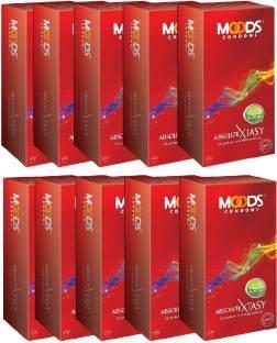 Moods Xtasy Condoms (120 condoms)