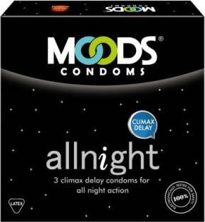 Moods All Night Condoms (120 Condoms) - Pack of 40
