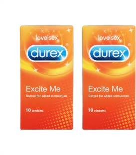 Durex Excite Me Condoms (20 Condoms)
