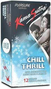 Kamasutra Chill Thrill Cool Pleasure Condoms (24 Condoms)
