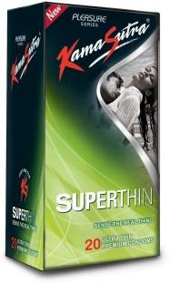 Kamasutra Superthin Pleasure Condoms (20 Condoms)