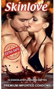 Skinlove Dotted Chocolate Condoms (12 Condoms)