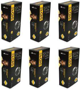 Skore Skin Thin Condoms (10 Condoms) - Pack of 6