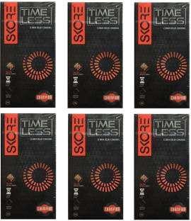 Skore Time Less Condoms (10 Condoms) - Pack of 6
