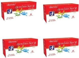 Okamoto Skinless Skin Ultra Thin Condoms (40 Condoms)