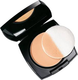 Avon Anew True Color Luminious Presses Powder Compact Fawn