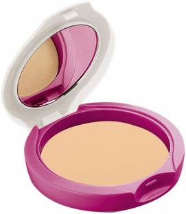 Avon Anew Shine-No-More Pressed Powder Compact Medium Beige Spf 14
