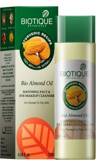 Biotique Bio Almond Oil Soothing Face And Eye Makeup Cleanser 120ml
