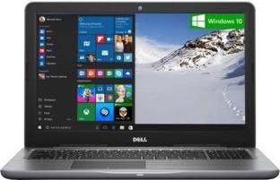 Dell Inspiron 5567 Intel Core i5 8 GB 2 TB & Above Windows 10 15 Inch - 15.9 Inch Laptop