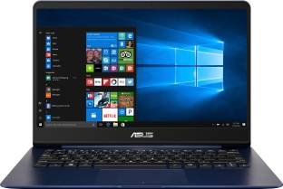 Asus UX430UN GV020T 512GB 8GB 2GB Graphics Windows 10 Core i7 8550U 8th Gen 14 inch Laptop, Blue