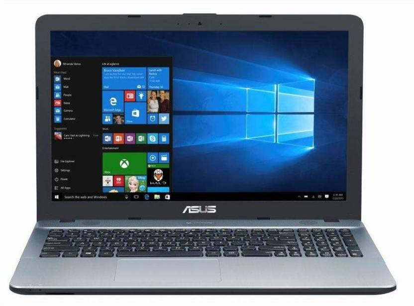 Asus X541NA-GO125T 7th Gen 4 GB 1 TB Pentium Quad Core N4200 Windows 10 15 Inch - 15.9 Inch Laptop