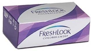 Ciba Vision Freshlook Colorblends Monthly Contact Lens (Sterling Grey, Pack Of 2)