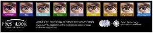 Ciba Vision Freshlook Color Blends Monthly Contact Lens (Brown, Pack Of 2)