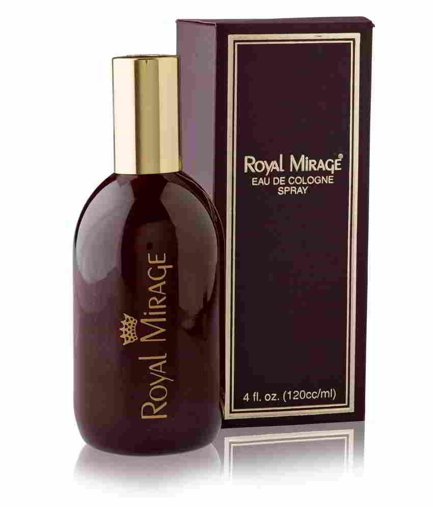Royal Mirage Brown Eau De Cologne Classic For Men- 120 ml