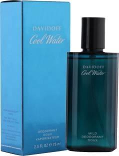 Davidoff Cool Water Mild Deodorant Spray For Men 75 ml