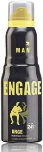 Engage Urge Deodorant Spray For Men, 150 ml