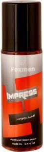 Foxmen Impress Perfume Body Spray For Men 200 ml
