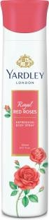 Yardley Red Rose Women Body Spray, 150 ml