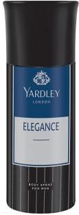 Yardley London Elegance Men Body Spray, 150 ml