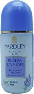 Yardley London English Lavender Deodorant Roll On For Unisex 50 ml