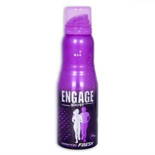 Engage Sport Fresh Deo Spray For Men 150 ml