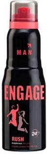 Engage Rush Deodorant Spray For Men, 150 ml