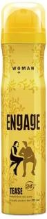 Engage Tease Deodorant Spray For Women, 150 ml