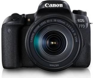 Canon EOS 77D DSLR With 18-135mm USM Lens