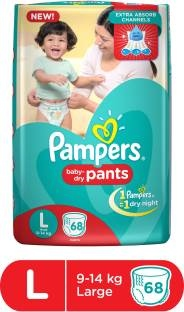 Pampers Pants Style L Diapers (68 Pieces)