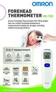 Omron MC-720 Forehead Digital Thermometer